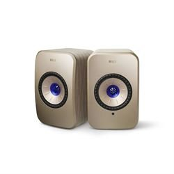 KEF LSX Wireless Soundwave Edition by Terence Conran